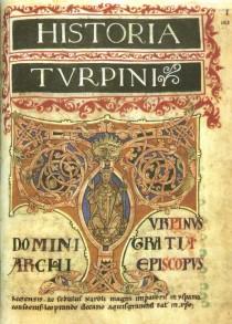 Il frontespizio del Codex Calixtinus.