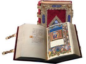 Il Libro d'Ore Medici Rothschild pubblicato in facsimile da Franco Cosimo Panini Editore.