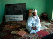 Una biblioteca privata a Ouadane, in Mauritania.