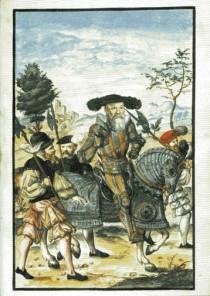 Una tavola del Trattato della guerra di Alberto di Brandeburgo-Ansbach.