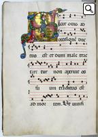 L'Antifonario bolognese del 1480 ca. passato in asta da Reiss & Sohn per 25mila euro.