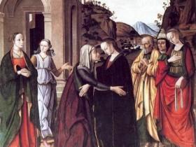 Giovanni Santi, Visitazione