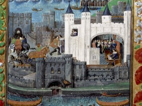 Tower of London 1483 Royal 16 BL