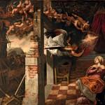 Tintoretto, Annunciazione, sala terrena, Scuola di San Rocco, Ve