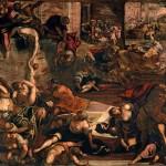 Tintoretto, La strage degli innocenti, sala terrena, Scuola di S