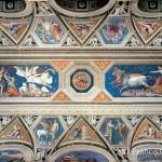 Baldassarre Peruzzi, Loggia di Galatea, volta
