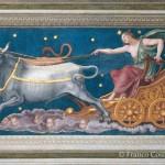 Baldassarre Peruzzi, Loggia di Galatea, volta - particolare