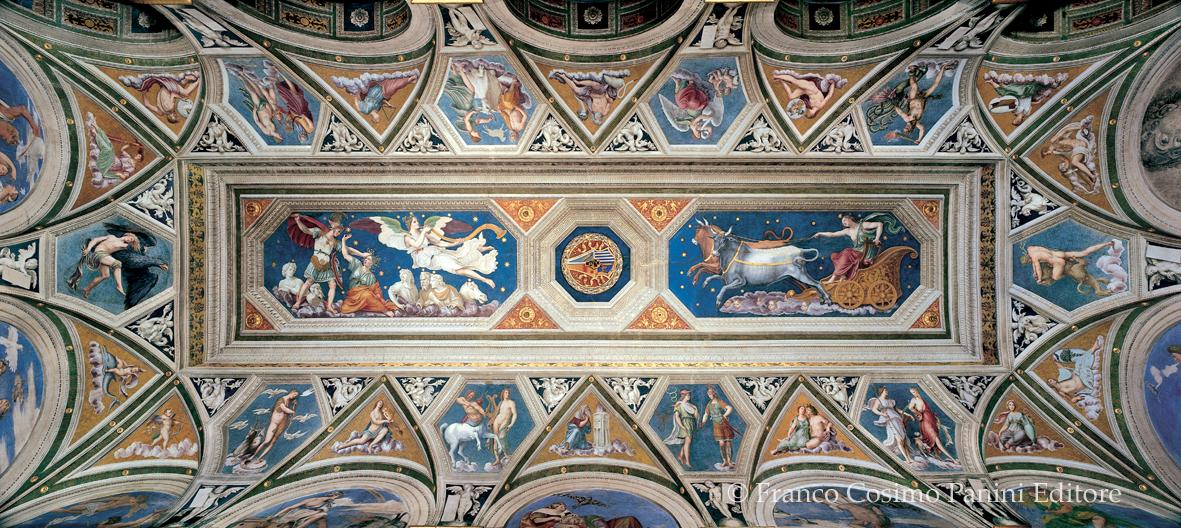 Baldassarre Peruzzi, Loggia di Galatea, volta - Folia