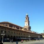 Bramante, Piazza Ducale e Torre di Vigevano (1492-1496)