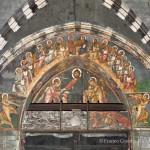 Cattedrale di San Lorenzo a Genova - Cristo in trono tra gli angeli che recano i simboli della Passione
