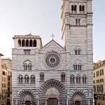 Genova, Duomo (Cattedrale di San Lorenzo):  facciata.