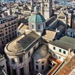 Cattedrale di San Lorenzo a Genova - L'abside della navata centrale e della navata settentrionale da nord-est