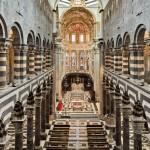 Cattedrale di San Lorenzo a Genova - La navata centrale