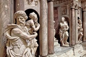 Cattedrale di San Lorenzo a Genova - Monumento funebre del vescovo Giuliano Cybo