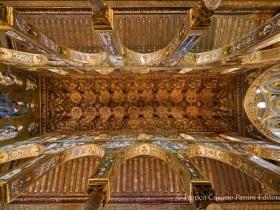 Il soffitto della Cappella Palatina