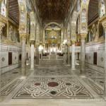 La Cappella Palatina da Ovest