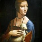 Leonardo, Dama con l'ermellino (1488-1490)