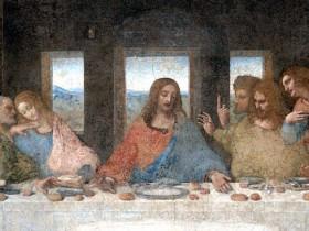 Leonardo, Ultima cena, particolare