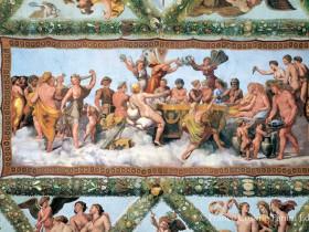 Raffaello, Loggia di Amore e Psiche - Le nozze di Amore e Psiche
