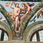 Raffaello, Loggia di Amore e Psiche - Venere, Cerere e Giunione