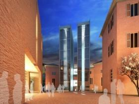 Progetto delle due torri librarie del Polo Culturale Sant'Agostino, Modena