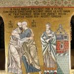San Pietro incontra San Paolo a Roma