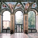 Villa Farnesina, Loggia di Amore e Psiche, vista da sud