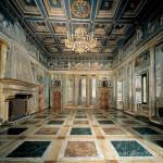 Villa Farnesina, Sala delle Prospettive, lato est