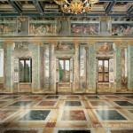 Villa Farnesina, Sala delle Prospettive, lato sud