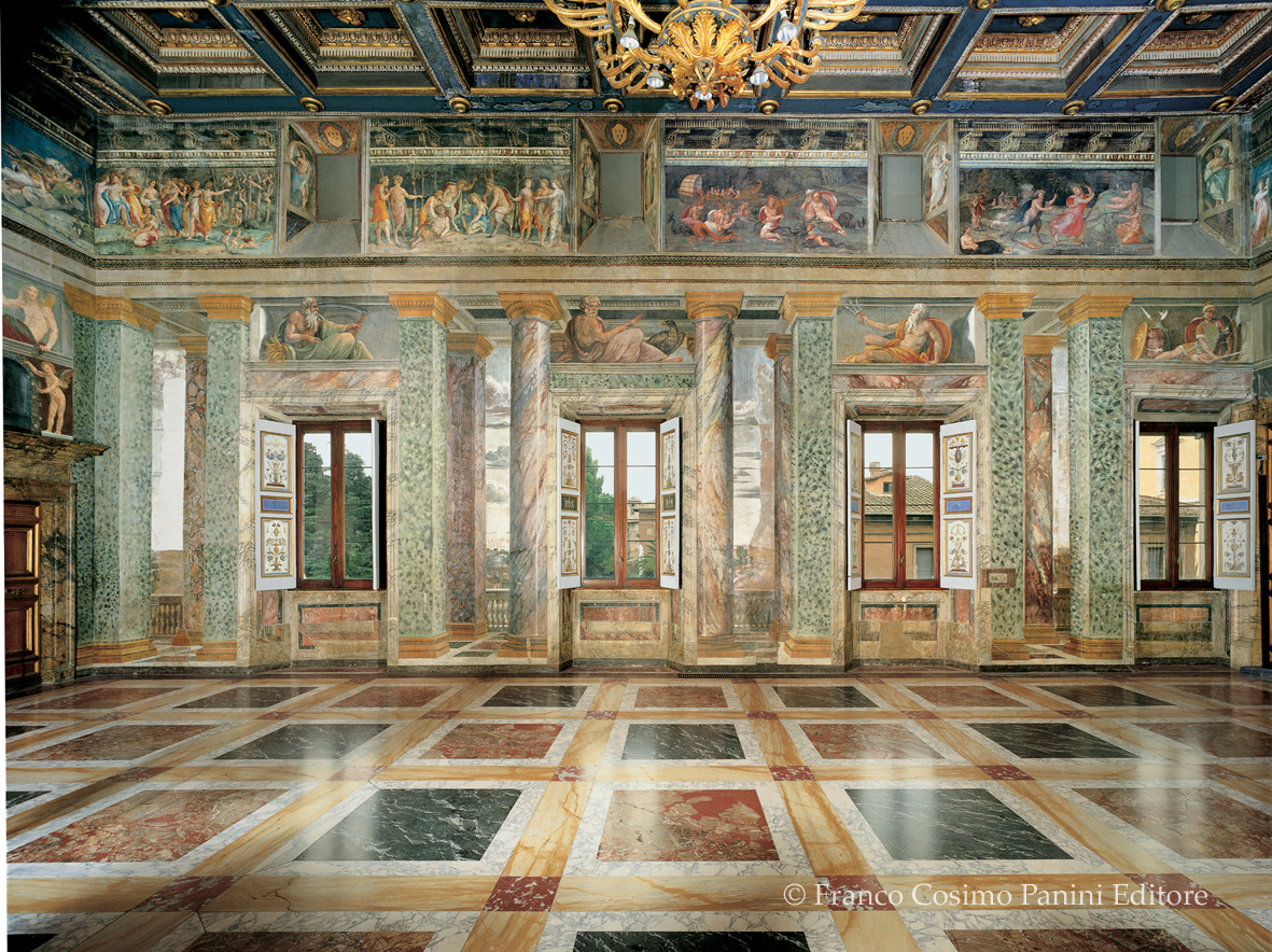 Basilica Floor Plan Viaggio In Italia La Villa Farnesina A Roma Folia