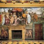 Villa Farnesina, Stanza delle Nozze di Alessandro Magno e Rossane