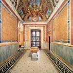 Villa Farnesina, atrio da sud