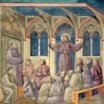 18 L'apparizione di san Francesco al capitolo di Arles