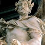 Agostino Cornacchini, Carlo Magno, particolare