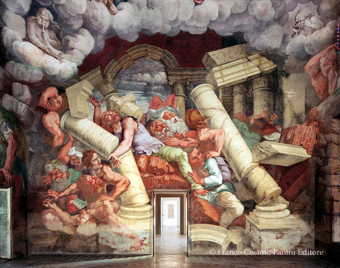 Viaggio in italia palazzo te a mantova folia for Camera dei
