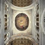 Cupola con l'Assunzione della Vergine e santi