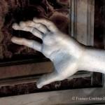 Gian Lorenzo Bernini, San Longino, particolare