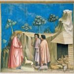 Giotto, Gioacchino fra i pastori