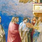 Giotto, Il corteo nuziale della Vergine