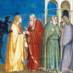 Giotto, Il tradimento di Giuda, particolare