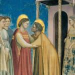 Giotto, La visitazione, particolare