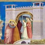 Giotto, L'incontro alla Porta Aurea