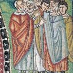 Gli israeliti ai piedi del monte Sinai