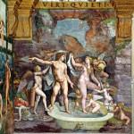 Il bagno di Venere e Marte - Camera di Psiche