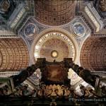 La volta della crociera con la cupola, i transetti e la navata centrale