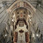 L'arcone orientale della crociera