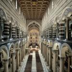 L'interno del Duomo dalla controfacciata