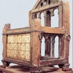 Manifattura carolingia, la Cattedra lignea di san Pietro