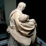 Michelangelo, Pietà vista da dietro