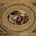 Soffitto dell'albergo, Scuola Grande di San Rocco, Venezia